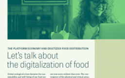 Link image to Let's talk about the digitalization of food Fact Sheet.